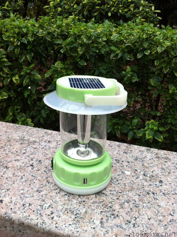 太阳能手提灯 usb手机充电(手摇发电)